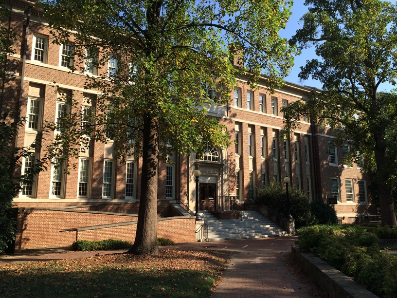 Carolina Hall, Fall 2016