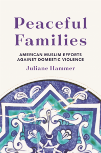 Book Cover of Peaceful Families by Juliane Hammer